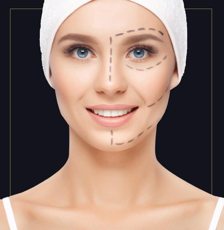 Entra nella sezione chirurgia del viso a Verona